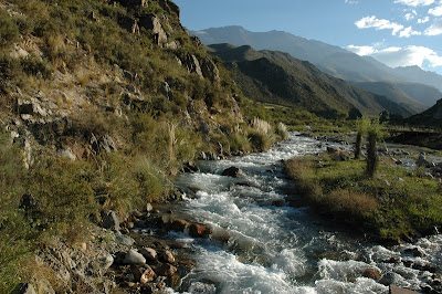 El Río Mendoza será el más favorecido por las nevadas