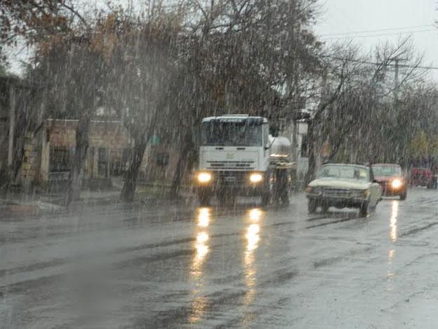 Nevó en el Valle de Uco y quedaron las rutas cortadas hacia el Sur