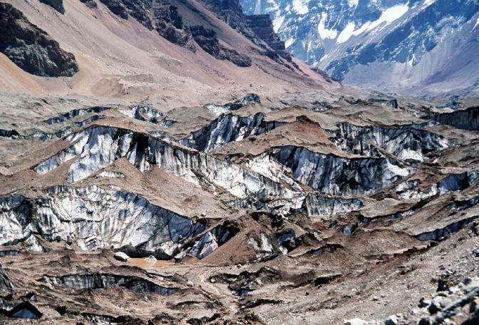 En Mendoza hay 573 km2 de glaciares