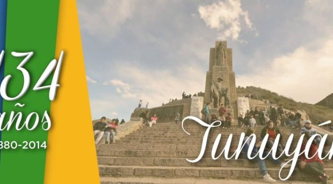 Cronograma de actividades por los 134º Aniversario de Tunuyán