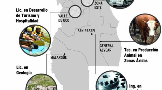 La UNCuyo incorporará ocho carreras nuevas en 2016