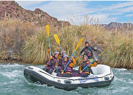 Aventuras al pie de la Cordillera de los Andes
