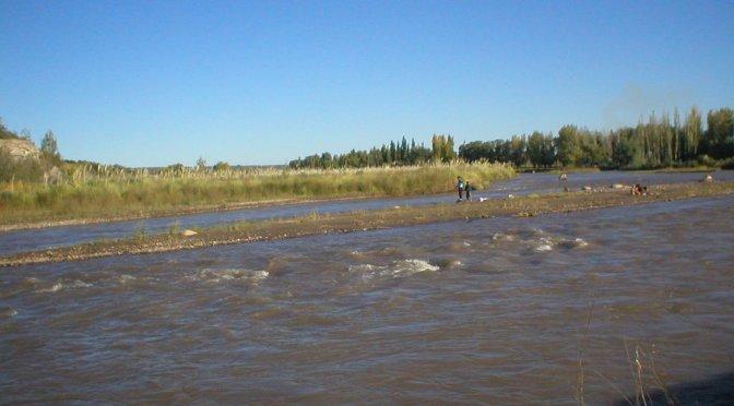 Planean un paseo costanero en la ribera del río Tunuyán