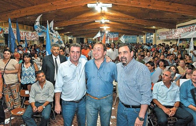Martín Aveiro asumió como titular del PJ de Tunuyán