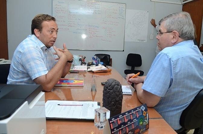 """Aveiro: """"Apuntamos al desarrollo económico de Tunuyán"""""""