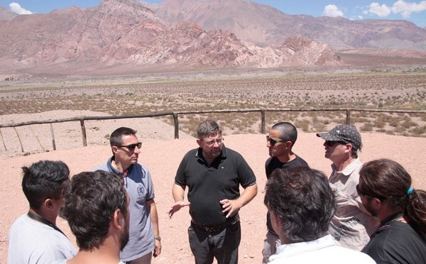 Mendoza | Presentó en Uspallata las Rutas de Aventura 2015