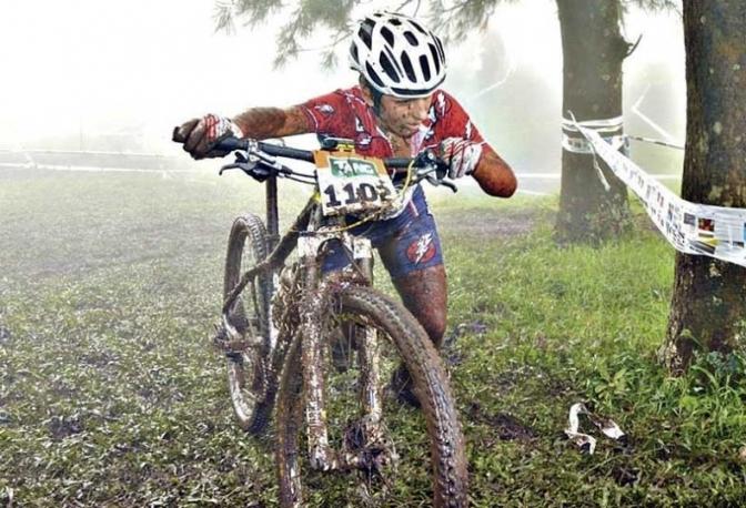 Luciana Roland ganó la primera fecha del Campeonato Argentino de MTB