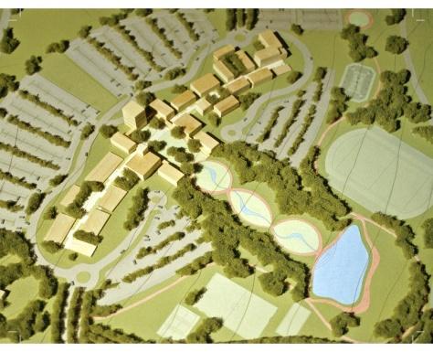 Campus Universidad Siglo 21 - Master Plan