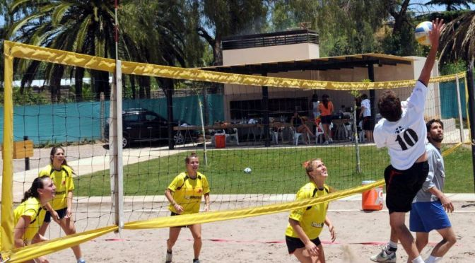 Beach volley: arranca la 8va fecha en Tunuyán
