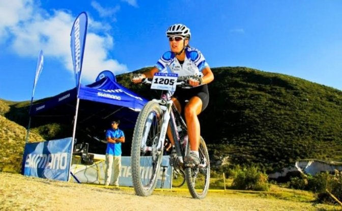 Luciana Roland logró un nuevo podio en el Argentino de mountain bike