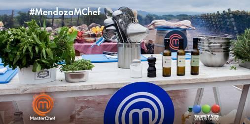 Los participantes de MasterChef cocinaron en el Valle de Uco