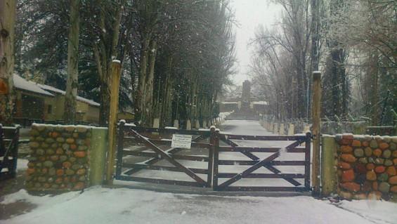 Festejos en el Manzano Histórico amenazados por la nieve y la lluvia