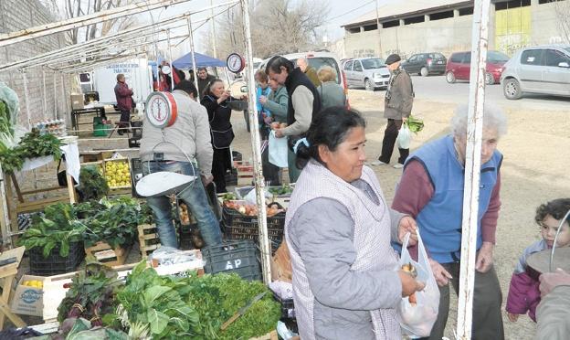 La feria franca departamental de Tunuyán ofrece productos orgánicos