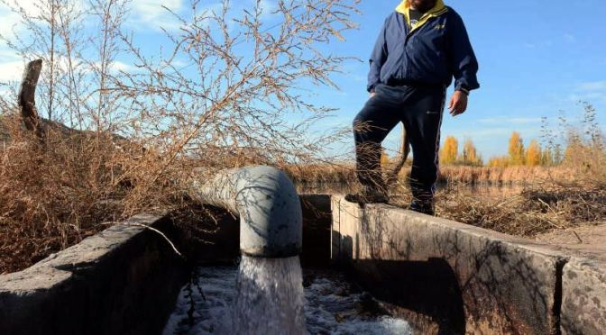 Tunuyán: sancionan a firma por verter efluentes sin tratamiento