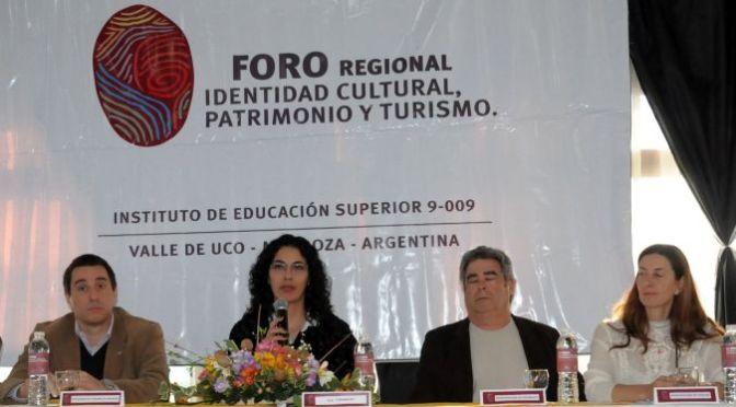 Se realizó en Tupungato el Foro Identidad, Patrimonio y Turismo