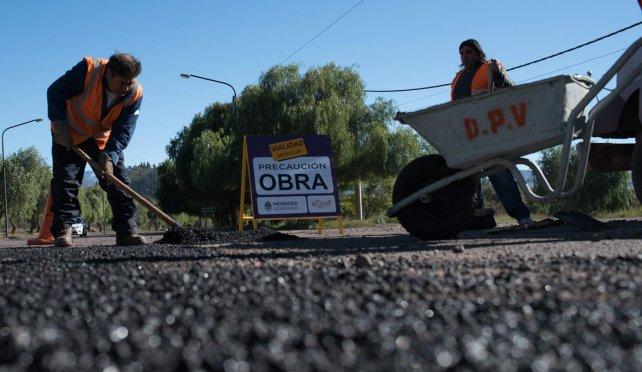 El operativo antibaches de Vialidad sigue a todo ritmo en el Valle de Uco