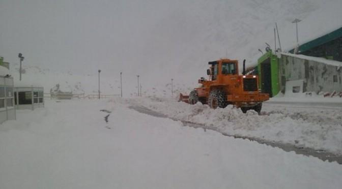 Diez días sin Paso a Chile: más de 1400 camiones varados