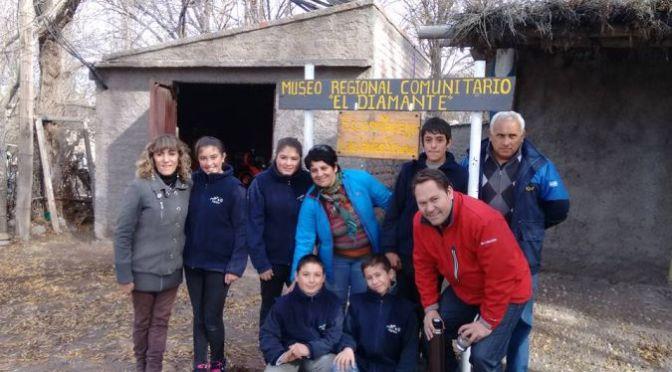 """Autoridades de la DGE visitaron la escuela de La Jaula: """"hay una especial dedicación a la educación"""""""